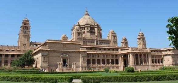 The Umaid Bhawan Palace in Jodhpur
