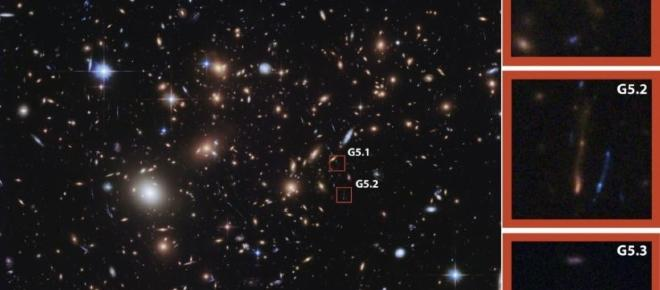 Astronomers find dust-obscured stars in a distant galaxy