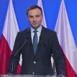 Prezydent Duda padł ofiarą lewackiego hejtu