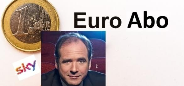 Sky-Chef Carsten Schmidt senkt den Preis pro Ticket auf 1 Euro / Fotos: dessauer; Sky - Montage Blastingnews