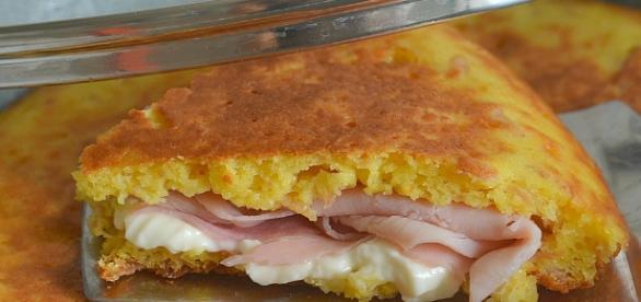 Torta salata di patate e prosciutto cotto - giallozafferano.it