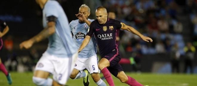 Barcelona, 5 - Celta de Vigo, 0: Resumo do jogo da Liga Espanhola