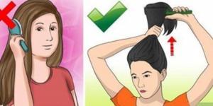 Escovar os cabelos com frequência é um hábito que deve ser evitado