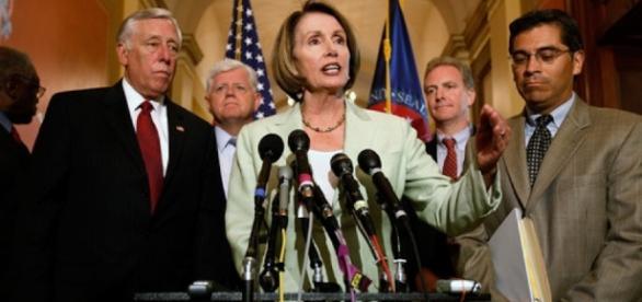 House Democrats Leadership. Image via CommonDreams.org