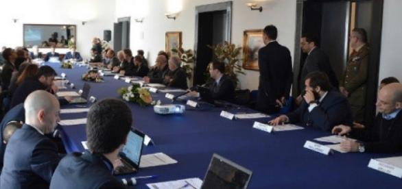 Un momento del workshop alla Scuola telecomunicazioni delle Forze armate (difesa.it)