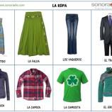 A1/A2 - La ropa. Actividad para practicar con imágenes el léxico ... - pinterest.com