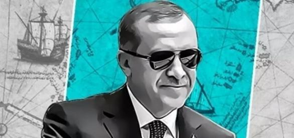 Recep Tayyip Erdogan. President Der Türkei