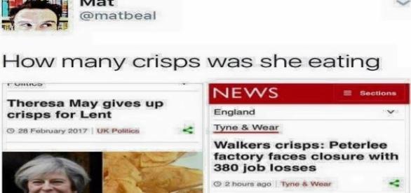 Theresa May heads the boycott (Source: twitter.com)