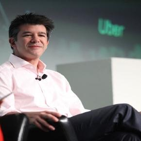 Travis Kalanick apologizes after getting caught (Flickr/by TechCrunch).