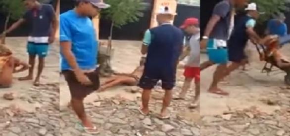 Travesti é espancado com requintes de crueldade no Ceará