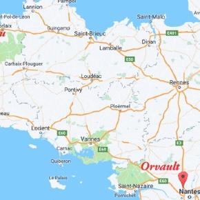 Il faut près de trois heures et demie pour couvrir la distance entre Orvault et Plouguerneau