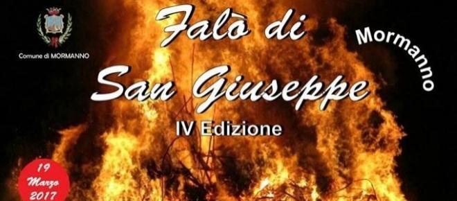 San Giuseppe: a Mormanno la quarta edizione del Gran Falò