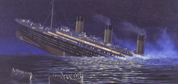 L'affondamento de translatantico Titanic