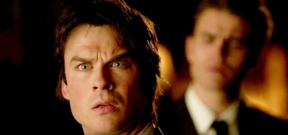 The Vampire Diaries 8x16: Damon e Stefan reencontram Elena (Foto: CW/Youtube)
