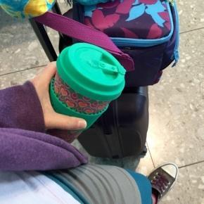Der ökologisch-abbaubare Bambus-Kaffee-Becher