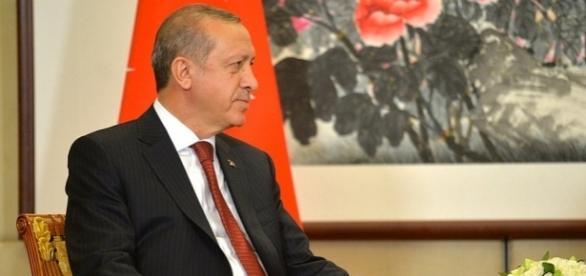 Der türkische Präsident Erdogan. (Source acc. URG Suisse kremlin.ru)
