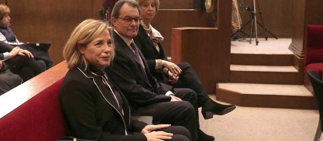 El expresidente de la Generalitat de Catalunya, Artur Mas, condenado por el 9N