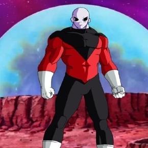 Jiren versus Goku y Hit. Dragon Ball Super el guerrero del dios payaso
