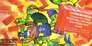 TMNT II: The Arcade Game para NES