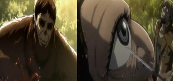 Shingeki no Kyojin (Ataque a los Titanes) Capítulo 26 Español, la muerte de Mike