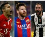 Champions League quarter-finals (photo via eurosport.com)