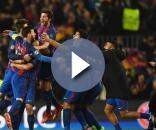 Barcelona 5-1 PSG. Gentileza Daily Mail.