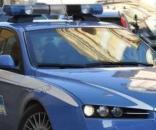 Un'autovettura della Polizia di Stato.