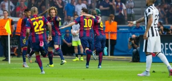 Barcelona won the Champions League Final against Juventus two years ago. Photo: Inkhel.com