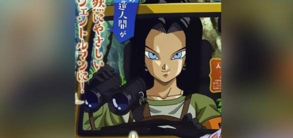 El tan esperado regreso del androide más fuerte de Dragon Ball.