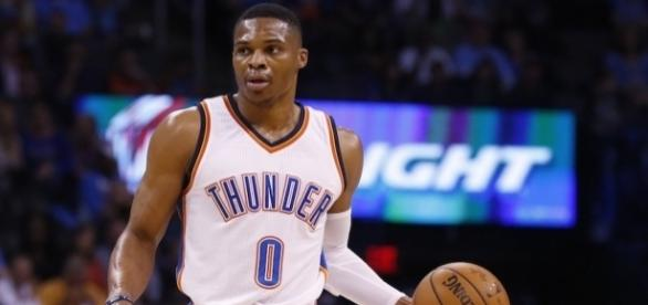 Russell Westbrook made NBA history on Sunday while two of his peers also hit triple-doubles. [Image via Blasting News image library/inquisitr.com]