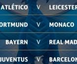 Atlético - Leicester, Bayern - Real Madrid y Juventus - Barcelona ... - elespanol.com