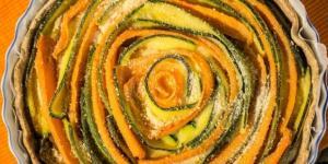 Torta Salata di verdure vegana