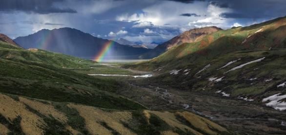 La bellezza di un paesaggio naturale