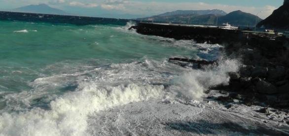 Una veduta del Golfo di Napoli
