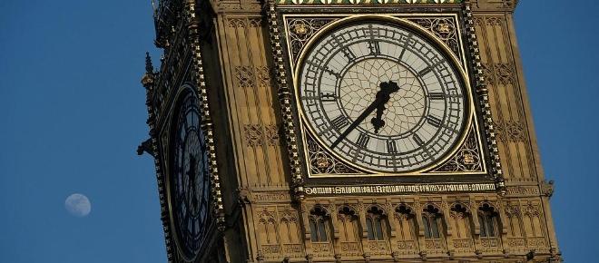 Il Big Ben chiuso per restauro