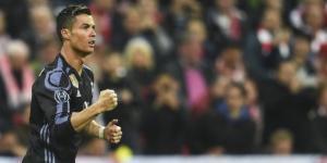 Cristiano Ronaldo celebra uno de sus goles con el Real Madrid frente al Bayern de Múnich. Foto: Filip Singer (EFE)