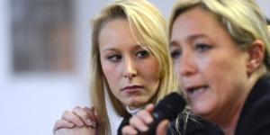 Marine et les jeunes décidés en politique: sa nièce Marion Maréchal Le Pen