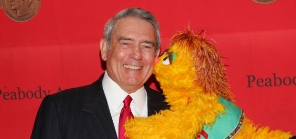 Dan Rather and Kami (the HIV positive muppet)