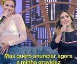 Tatá Werneck entrevistou a atriz Bruna Marquezine que falou sobre gravidez