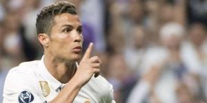 Cristiano Ronaldo Callando después de marcar el primer Gol