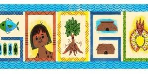 Google presta homenagem ao povo indígena em novo Doodle