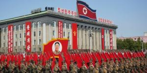 North Korea military celebrates founder Kim Il-Sung. / Photo by cnn.com via Blasting News library