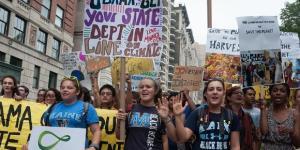 People's Climate March circa 2014. Alejandro Alvarez/Wikimedia
