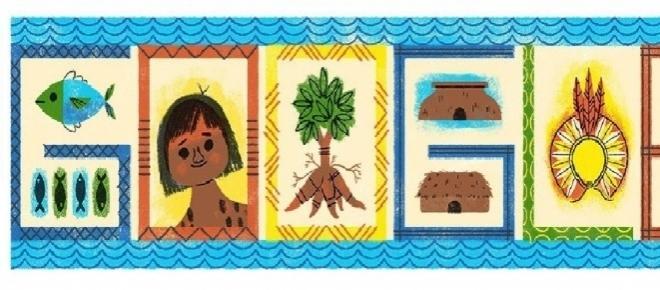 Doodle celebra 56º aniversário do Parque Indígena do Xingu