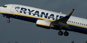 Boeing 737 pertencente a Ryanair