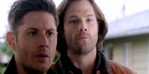 Supernatural episode 19,season 12 screenshot image via Andre Braddox