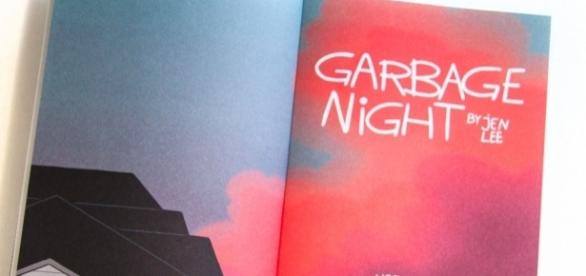 Jen Lee is the author and illustrator of 'Garbage Night'. / Photo via Tucker Stone, Nobrow Press. Used with permission.