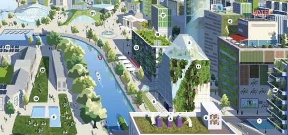 La arquitectura con elementos vegetales crea ciudades verdes y ... - oirealtor.com