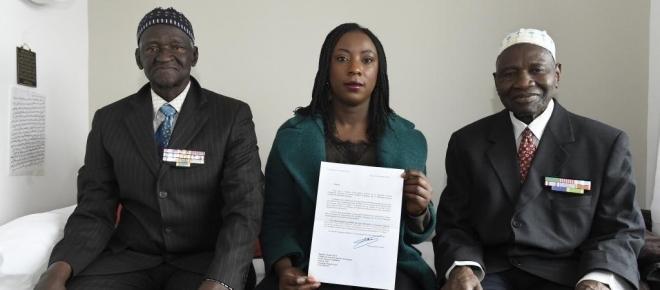 Naturalisation des 28 tirailleurs sénégalais par François Hollande