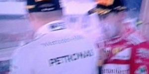 La gioia di Sebastian Vettel dopo la vittoria nella terza prova del mondiale
